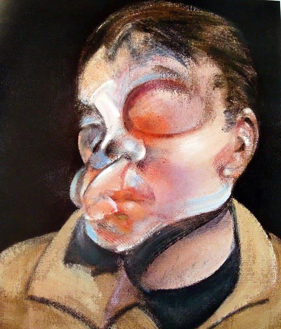 Autorretrato con ojo herido Francis Bacon podría representar el trastorno dismórfico