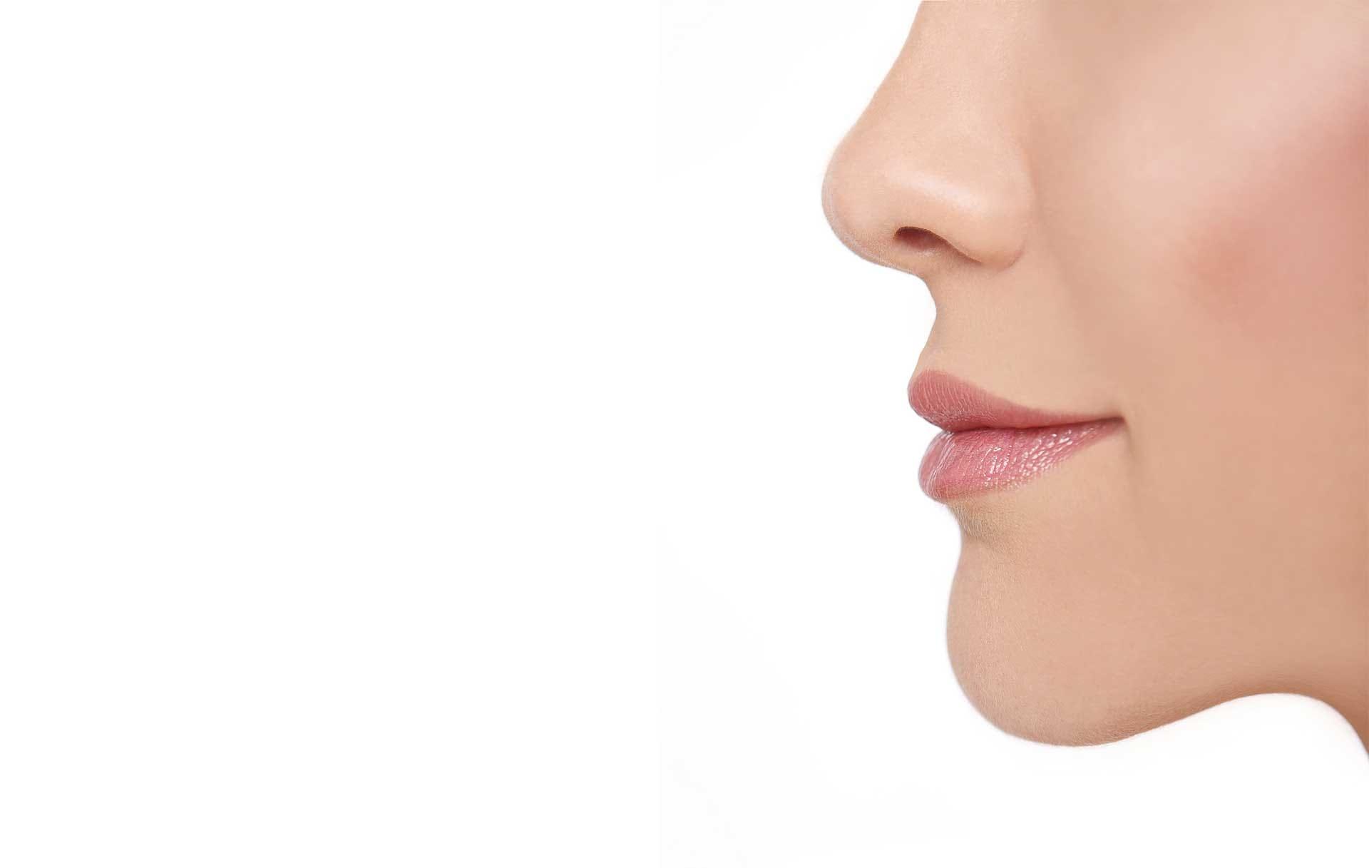 Cirugía perfiloplastia combinación rinoplastia y mentoplastia